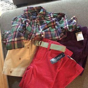 Lot of Size 6/6X Ralph Lauren Clothes